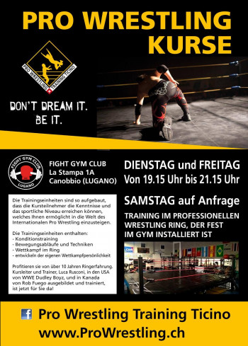 Pro Wrestling Kurse